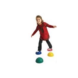 充氣橡皮半球體觸感訓練按摩球